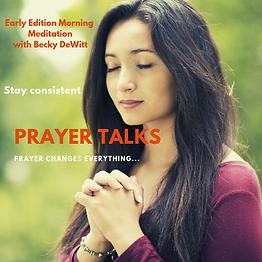 PRAYER TALKS