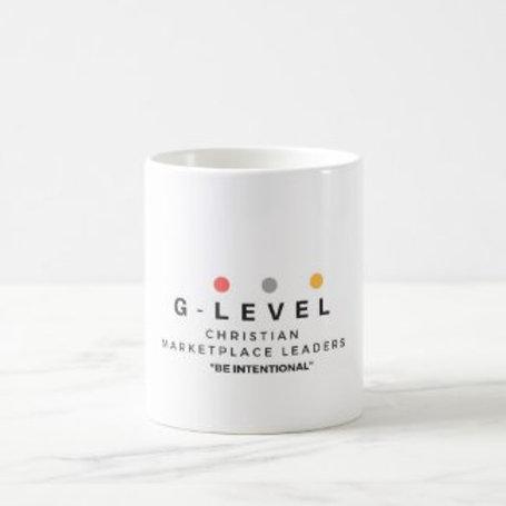 """G-Level Mug """"Be Intentional"""""""