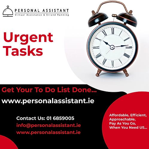 Urgent Tasks