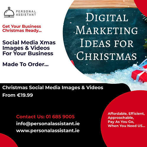 Digital Marketing Ideas For Christmas