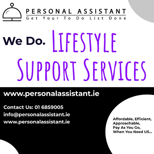 Support Services Lifestyle