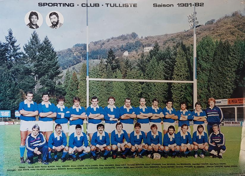 EQUIPE-1ERE-1981-1982