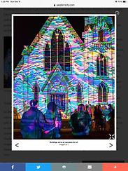 Napa Lighted Art Festival Draws January