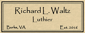 Richard Waltz guitar label