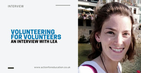 'Volunteering for Volunteers': An Interview with Lea, AFE's Recruitment Coordinator!