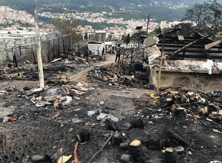 Samos Camp burns again: where is the humanity?