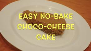 Easy No-Bake Choco-Cheese Cake: Video Tutorial