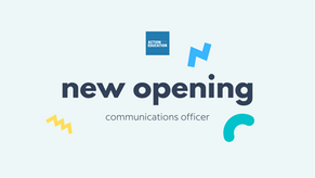 Communications Officer - New Opening