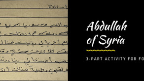 Abdullah from Syria – Lesson Plan