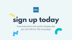 Hand in Hand: Fund education on World Refugee Day 2021
