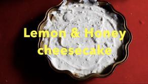 Honey and Lemon Cheesecake Recipe