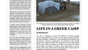 Vial Life: A Refugee Student Newspaper