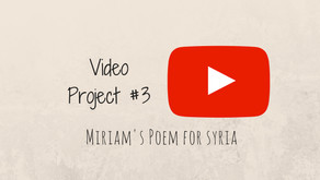 Miriam's Poem for Syria