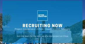 NEW POSITION: Programme Coordinator, Chios