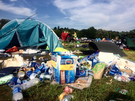 A Cover-Up? Salvaging for Refugees at Reading Festival 2017