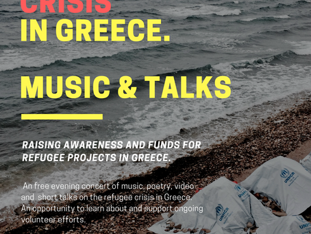 Music & Talks: The Refugee Crisis in Greece