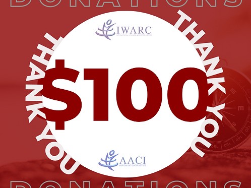 Donation of USD$100