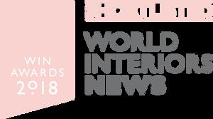 World Interior News pink logo