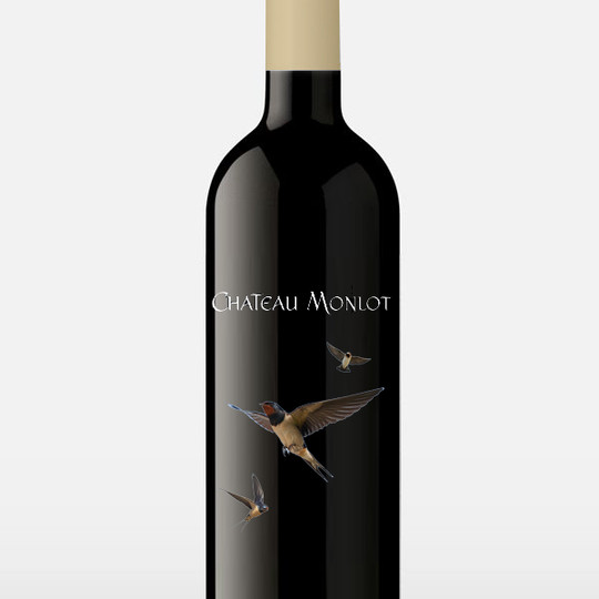 CHATEAU MONLOT WINE LABELS