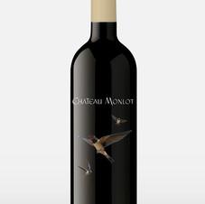 CHATEAU MONLOT WINE LABELS