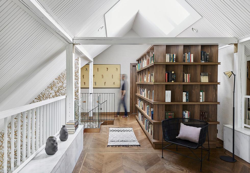 Mezzanine Library