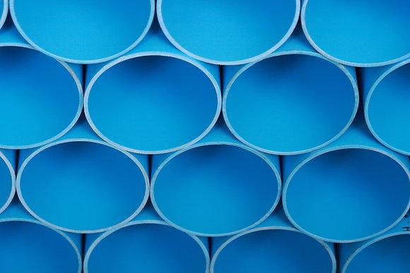 ท่อพีวีซีแข็ง สำหรับใช้เป็นท่อน้ำดื่ม (สีฟ้า) มอก.17-2532