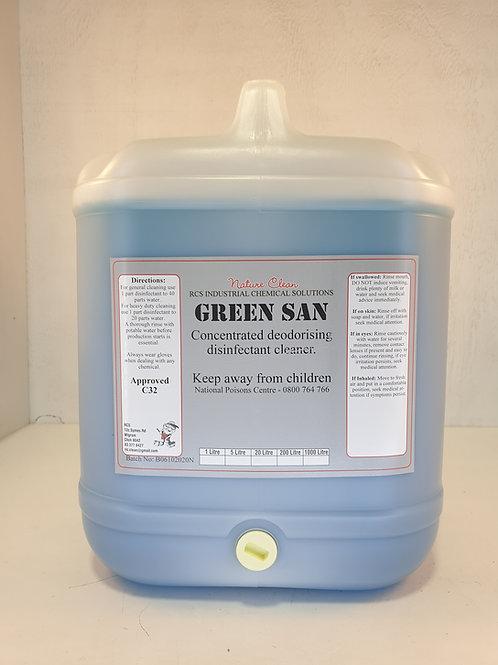 Green San Disinfectant