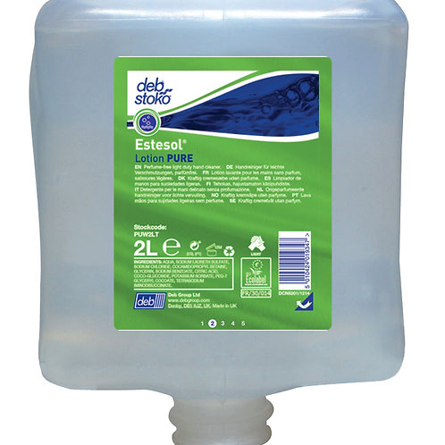 Deb - Estesol Lotion Pure - (6 x 1L Sachets)