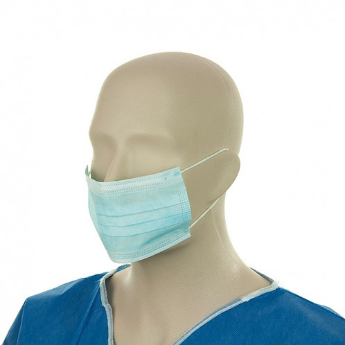 Surgical Face Masks - with Ear Loops