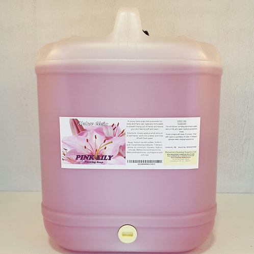 Pink Lily Flowing Soap
