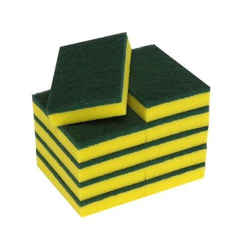 Green Pad Scrubbing Sponge