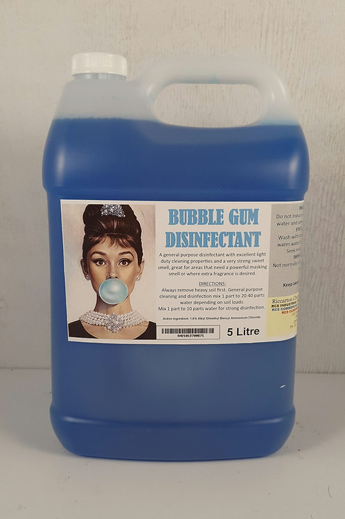 Bubblegum Disinfectant 5L