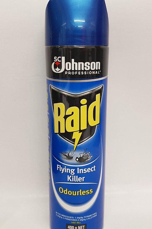 Raid Flying Insect Killer Odourless 400g