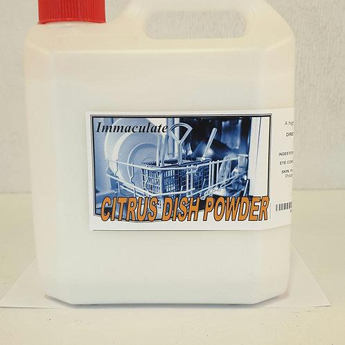 Immaculate Citrus Dish Powder