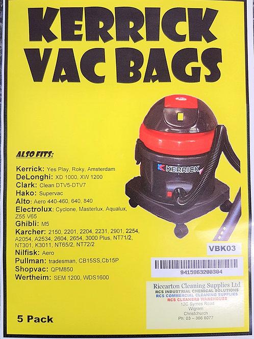 Kerrick Yes Play Bags - 5 Pack