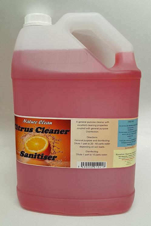 Citrus Cleaner Sanitiser