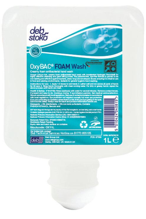 Deb - OxyBAC Foam Wash 1L (OXY1L)