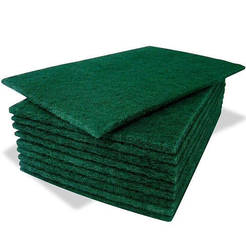 Bastion green scouring pads 10 Pack