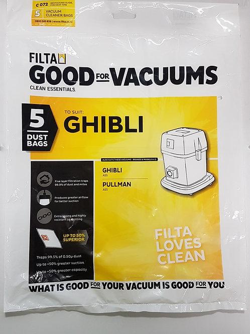 Pullman/Ghibli AS5 Vacuum bags