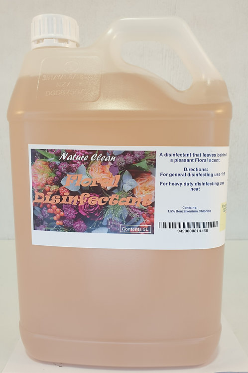 Floral Disinfectant