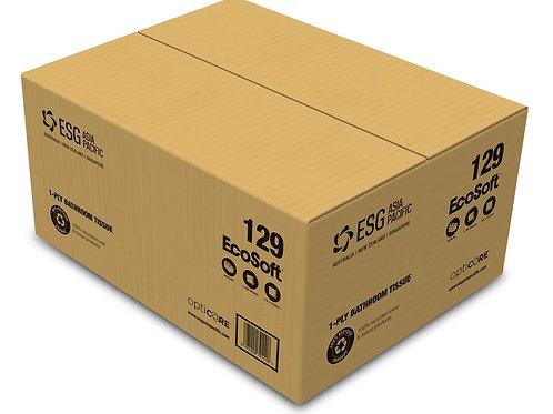 ESG EcoSoft OptiCore Toilet Tissue 1ply 1755 sheets (36 rolls/carton)
