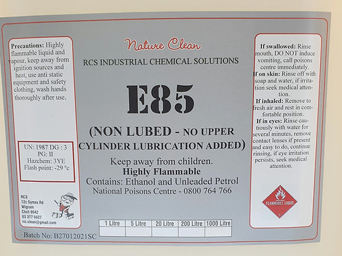 E85 Race Fuel - 200L Drum