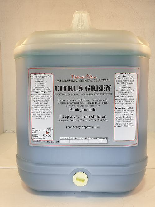 Citrus Green Degreaser/Cleaner