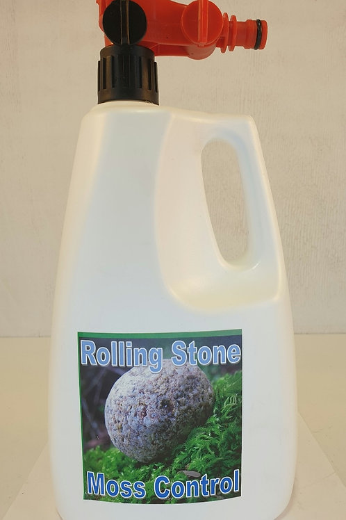 Rolling Stone Moss Control