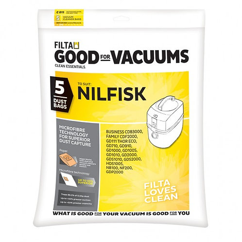 Nilfisk GD1000 Vacuum bags