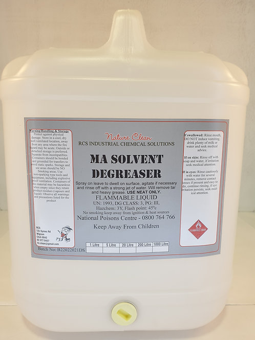 MA Solvent Degreaser