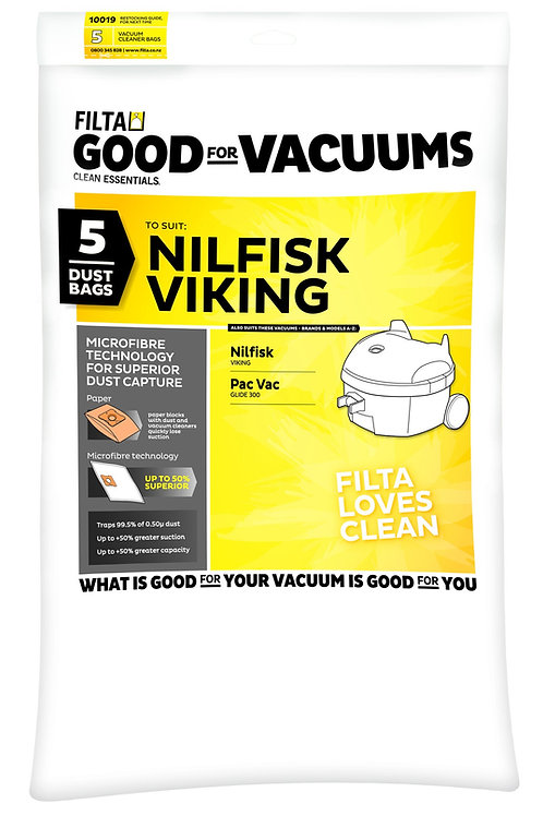 Filta C012 Nilfisk Viking (5 pack)