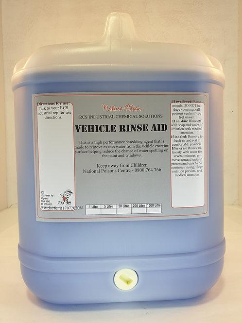 Vehicle Rinse aid