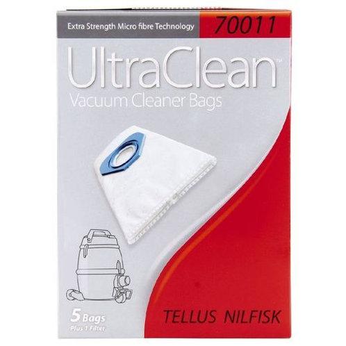 Tellus/Nilfisk (70011) Turbo Bags