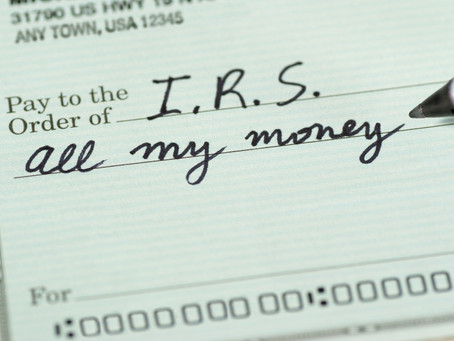 Taxes will crush your retirement dreams.